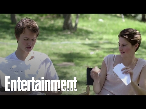 'The Fault in Our Stars': We put costars to the test during EW's photo shoot