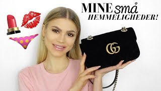 WHAT'S IN MY BAG? | GUCCI GG MARMONT MINI