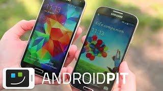 Galaxy S5 Vs Galaxy S4 Comparación En Español
