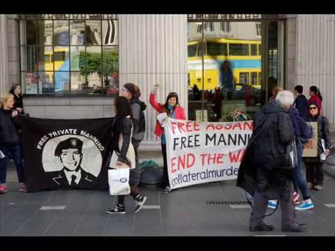 FREEDOM for CHELSEA MANNING! Solidarity music session, Dublin.