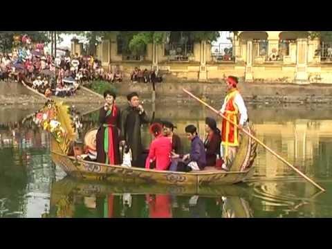 Hội Lim Tiên Du, Bắc Ninh 2012 phần 2 - Quan Họ Trên Thuyền