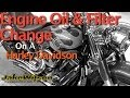 Harley Davidson Engine Oil & Filter Change