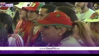 بالفيديو..هكذا تابع سكان العاصمة مباراة المغرب و البرتغال | خارج البلاطو