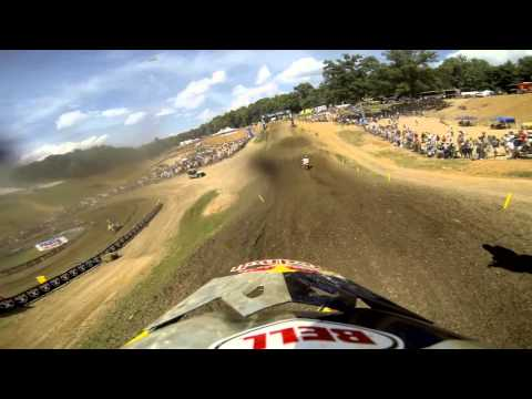 Gopro Hd: James Stewart Scrub - Muddy Creek Mx Lucas Oil Pro Motocross Championship 2013