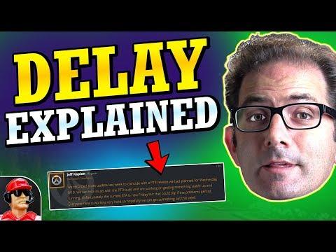 Jeff Explains New Developer Update Delay (Overwatch Quick News)