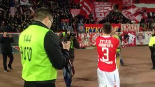 Delije i igrači posle utakmice - Jebaćemo Keln! | Crvena zvezda - Radnik Surdulica 5:0