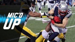 Steelers vs. Patriots (AFC Championship) Mic'd Up Highlights   NFL Films   Sound FX