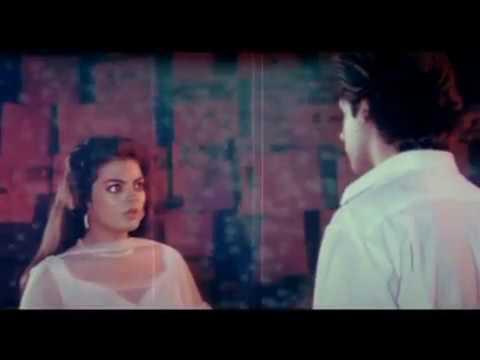 Rahul Roy And Sheeba Sensational Kiss - Pyaar Ka Saaya - Best Kissing Scenes