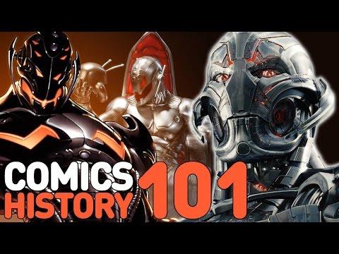 Avengers 2: Who Is Ultron - Comics History 101