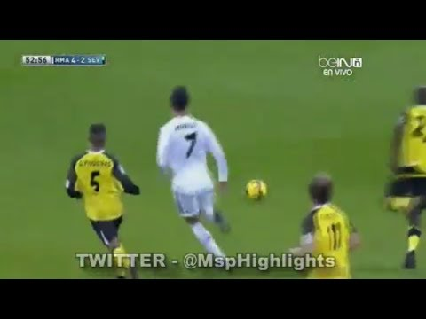 Real Madrid vs Sevilla 7-3 - All Goals & Highlights (Bale, Ronaldo Hattrick, Benzema) 30.10.2013