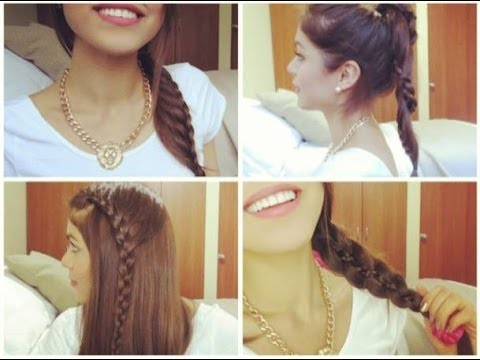 Peinados diferentes con Trenzas♡- Pautips