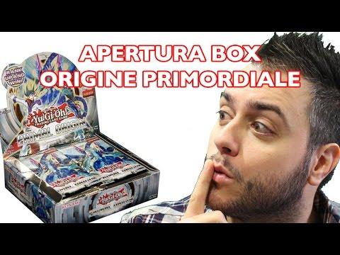Yu Gi Oh! Apertura box Origine Primordiale FANTASTICO MILIONI DI XYZ! Yugioh Yu-Gi-Oh!