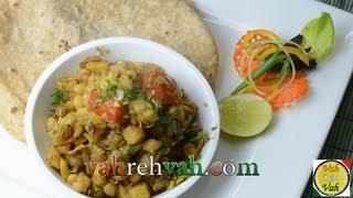 Cabbage Vatana Curry..