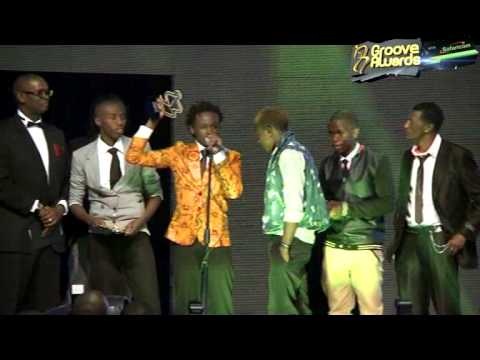 New Artist of the Year Groove Awards 2013 - Bahati