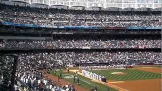 New York Yankees 2013 Opening Day Player Announcements - 4/1/13