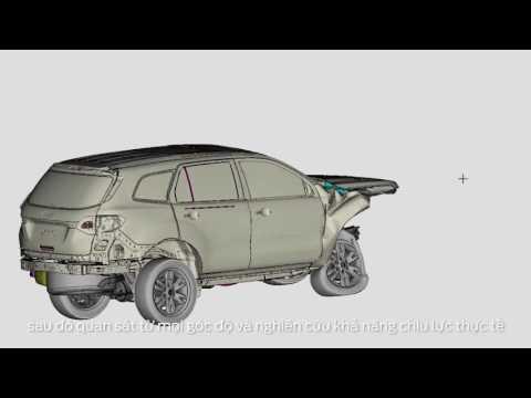 Độ an toàn Ford Everest đạt tiêu chuẩn Châu Âu