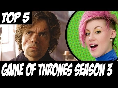 Game of Thrones TOP 5 Changes Book to Show. - Season 3.
