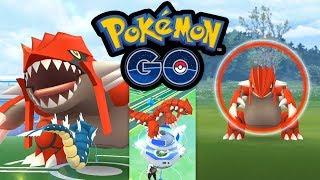 Meine ersten Groudon-Raids! Groudon zu Hause fangen | Pokémon GO Deutsch #509