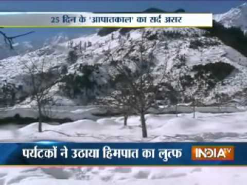Cold wave grips northern India -2