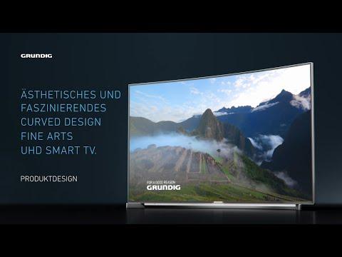 Grundig stellt neuen Curved Design Fernseher vor