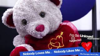 """""""Nobody Loves Me"""" Funny Video Of Cute Sad Teddy Crying"""