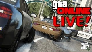 GTA 5: Online GTA V: Military BASE ATTACK! (Grand Theft