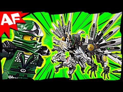 EPIC DRAGON Battle & GREEN NINJA 9450 Lego Ninjago Animated Short & Stop Motion Set Review