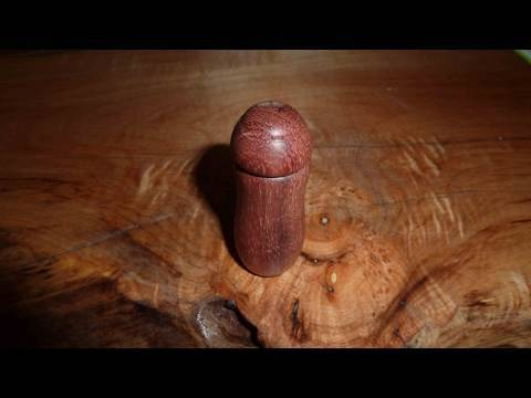 Wood Turning Projects perfume bottle