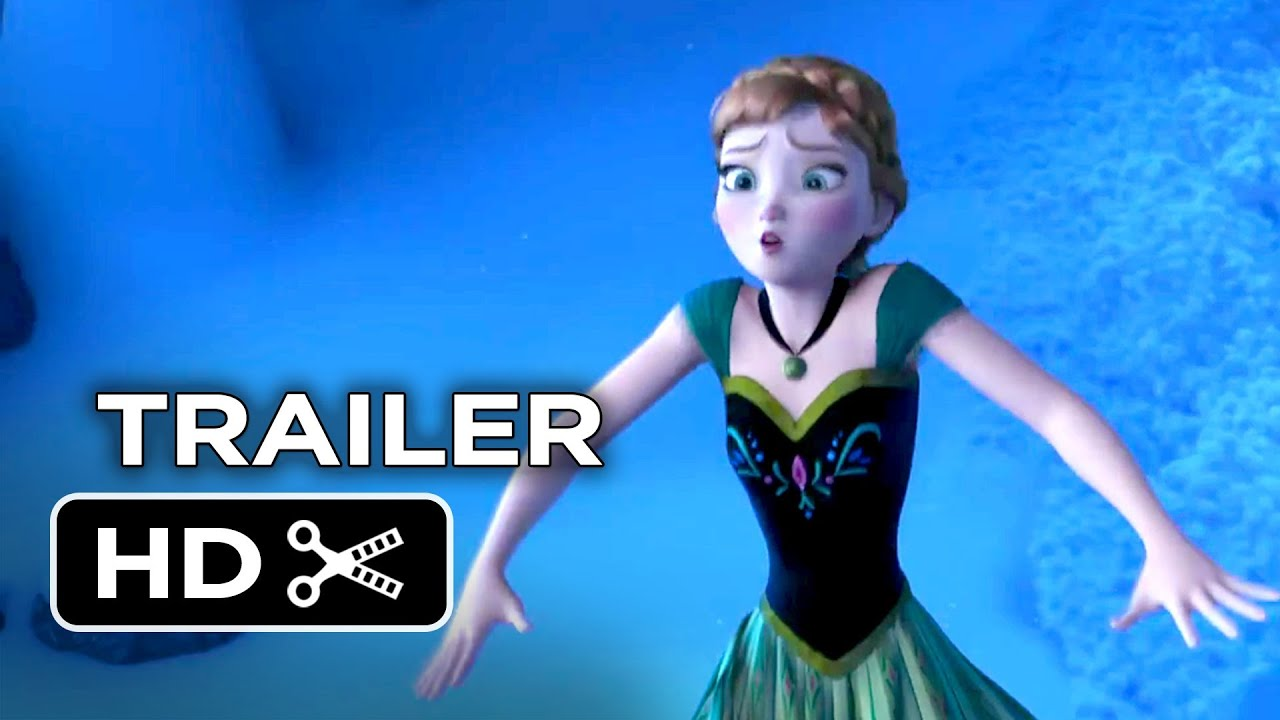 A photo of Frozen Official Trailer #1 (2013) - Disney Animated Movie HD