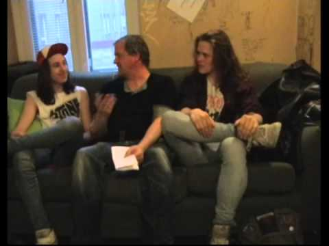 Lost Society Interview in Helsinki at Tavastia Club April 18th, 2013
