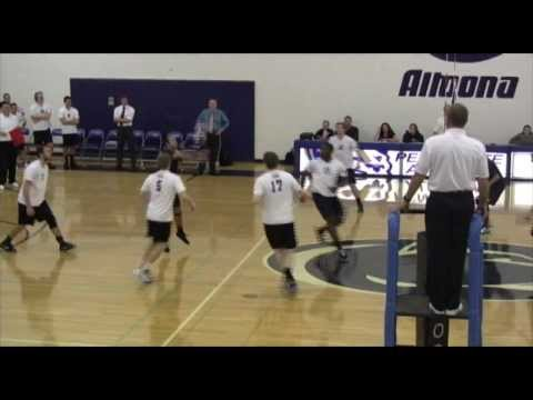 Penn State Altoona Men's Volleyball vs. Cazenovia, 2-23-14