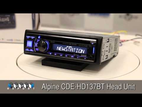 Alpine CDE-HD137BT Head Unit