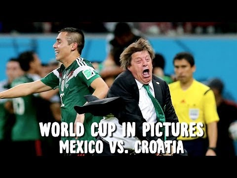 World Cup in Pictures: Mexico cruise into knockout round with three 2nd half goals