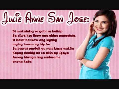 Julie Anne San Jose: Kaba | Lyrics