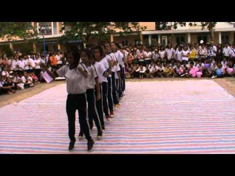 Trường THCS Thị Trấn Long Hồ AEROBIC 8.1hang nhat
