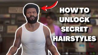 GTA V How To Unlock Bonus Hairstyles! (Trevor, Franklin