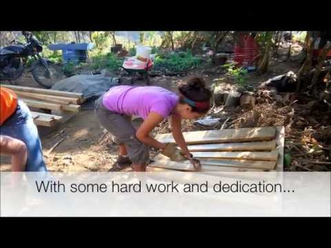 Hanover University group builds a playground in Guatemala.