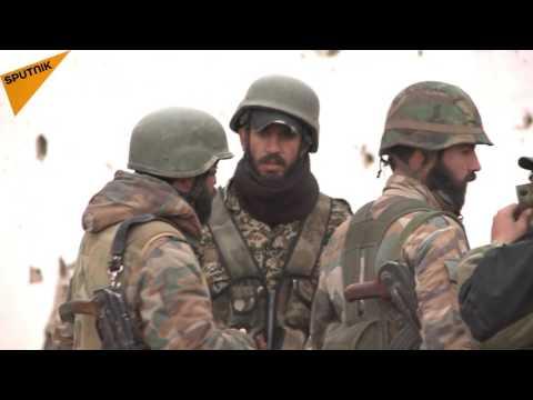 """الجيش العربي السوري يزيل ألغام """"داعش"""" في تدمر"""