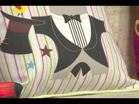 Cesta de pães com Carmem Freire e Almofada com Afonso Franco | Vitrine do Artesanato na TV