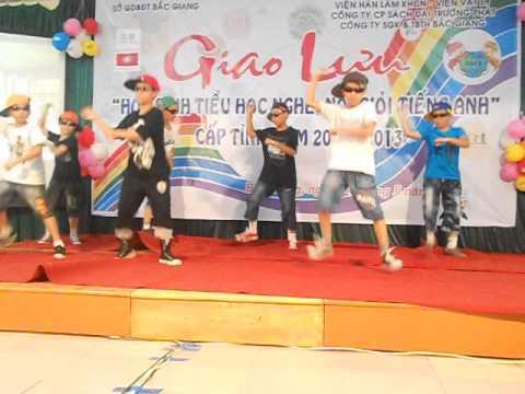Gangnam style Trường TH TT Neo- Giao Lưu Nói Tiếng Anh- Tỉnh Bắc Giang.