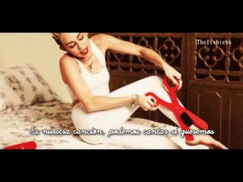 Miley Cyrus - We Can't Stop - Traducida al español + SIGNIFICADO HD 2013