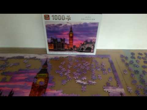 Big Ben 1000 piece puzzle-day 3