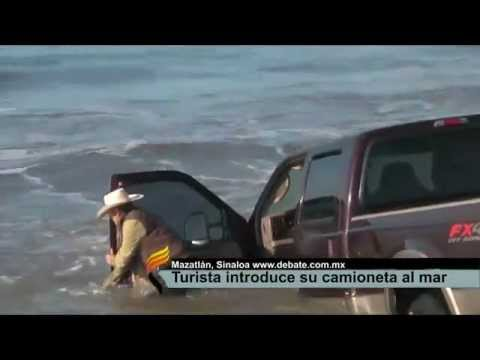 Thumbnail of video ¿Por que no meter tu camioneta al mar?