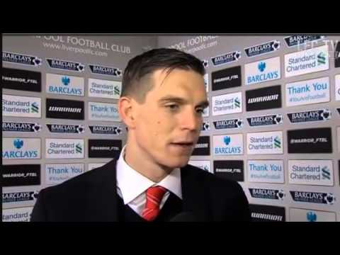 Daniel Agger on great start to 2014 01/01/14