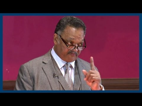 Free But Not Equal | Jesse Jackson | Oxford Union