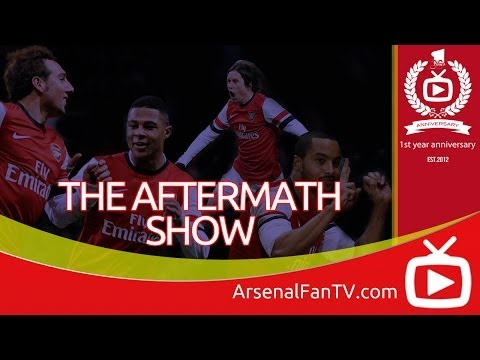 Arsenal 2 Tottenham Hotspurs 0 - The Aftermath Show - ArsenalFanTV.com