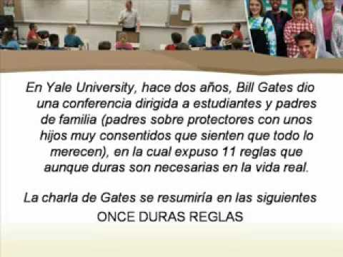 LAS 11 REGLAS DE BILL GATES SUPERATE A TI MISMO