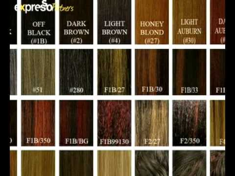 Hair color levels 1 10 chart red