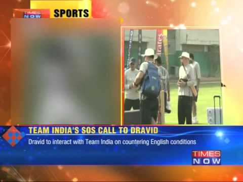 Team India's SOS call to Rahul Dravid