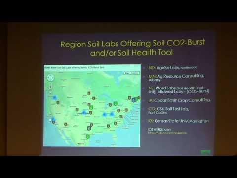 Dr Will Briton speaks on Solvita
